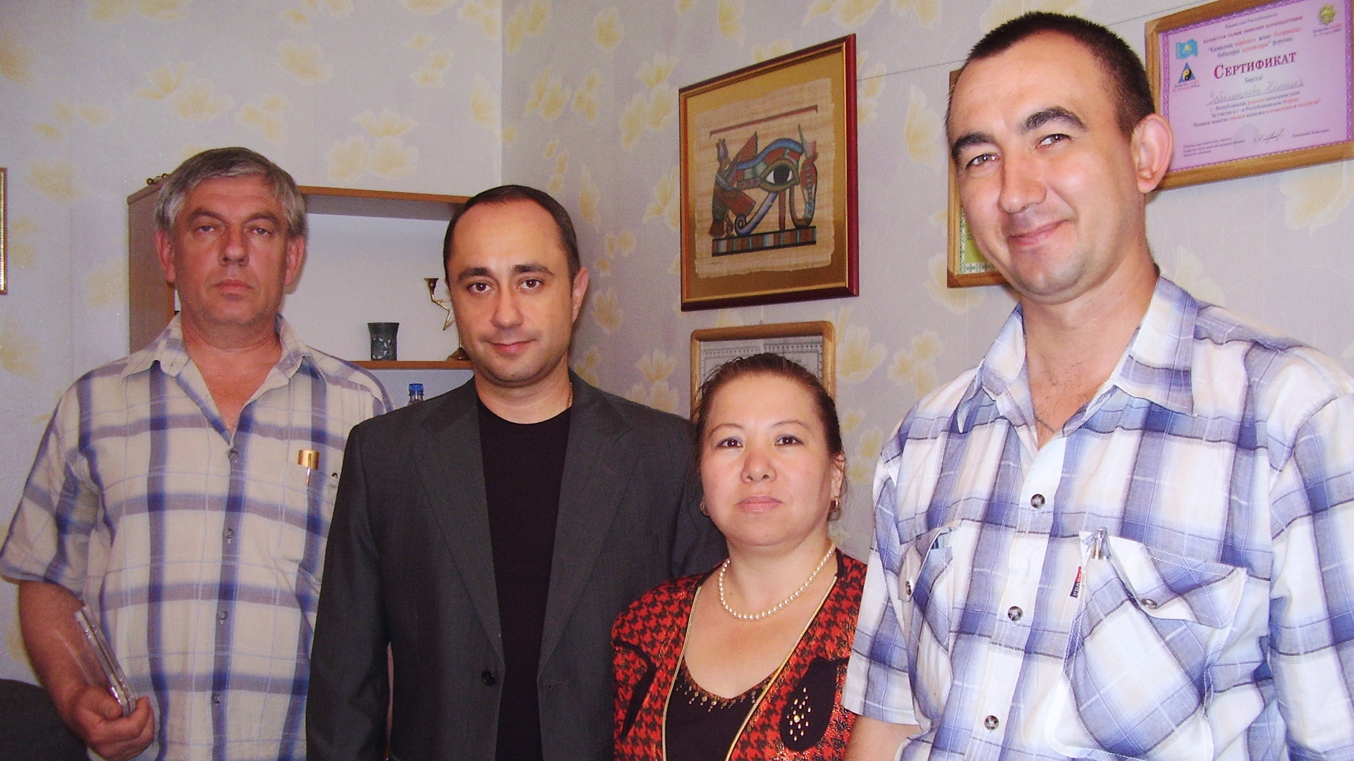 В Алмате после обучения космоэнергетике